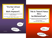 I'm Not Afraid of Math Anymore! GED® Math Books in English and Spanish