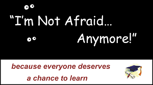 Join the I'm Not Afraid... Anymore! Movement title=
