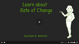 Video: Learn About Rate of Change