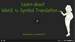 Video: Learn About Word to Symbol Translation
